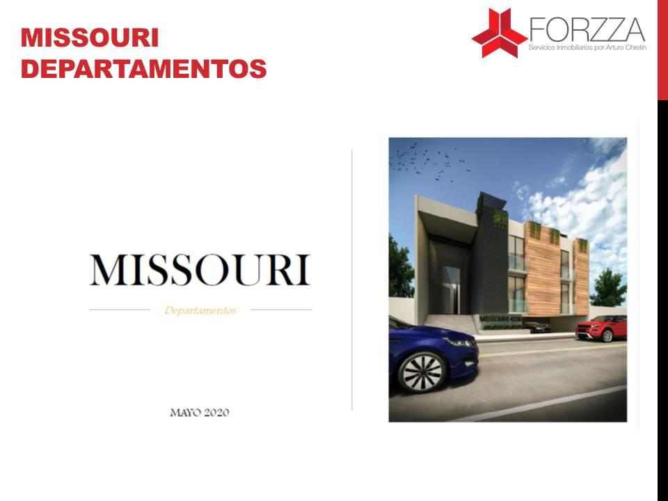 Missouri . Departamentos