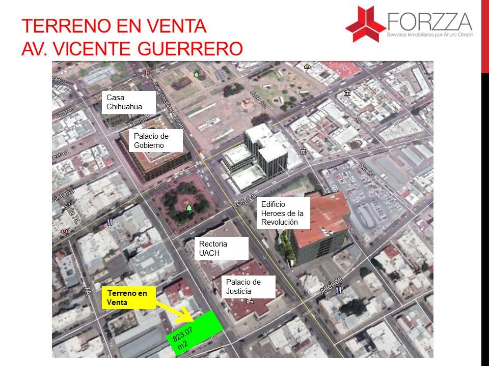 Terreno en Venta en Centro Histórico de Chihuahua